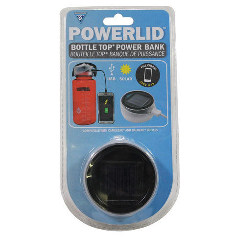 Power Lid Bottle Top Charging Station