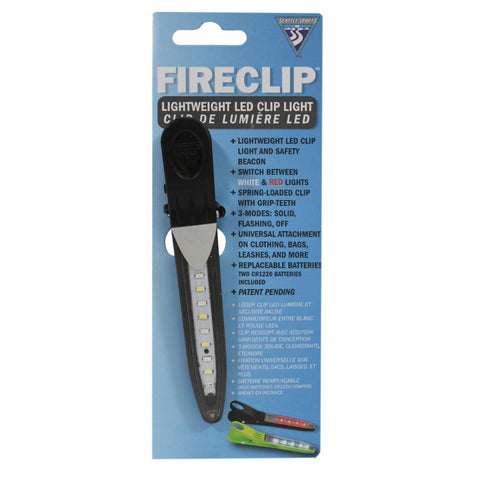 FireClip LED Light - Black