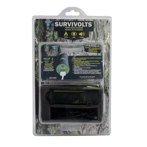 Survivolts - Power Bank Charger