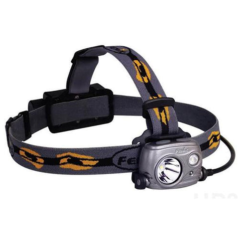 HP25R LED Headlamp with Battery, Iron Gray
