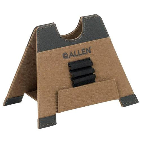 "Alpha-Lite Folding Gun Rest - 8"", Large, Brown"