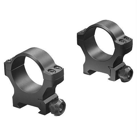 "Backcountry Cross-Slot Weaver-Style Rings - 1"" Diameter, Low Height, Matte Black"