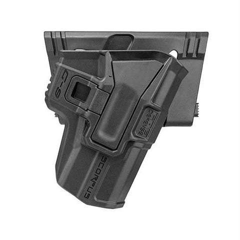 Model M24 Belt Holster with Level 2 Retention - Makarov PM, Ambidextrous, Black