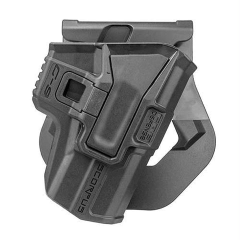 Model M24 Paddle Holster - 1911 Models, Ambidextrous, Black