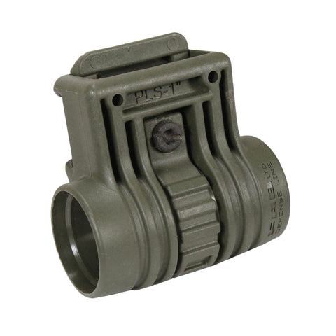 "1"" Tactical Light Side Mount - Olive Drab Green"