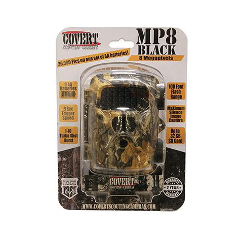 MP8 Black Camera, Realtree Edge