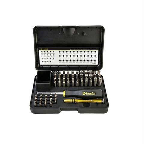 55 Piece SAE-Metric Hex And Torx Screwdriver Set