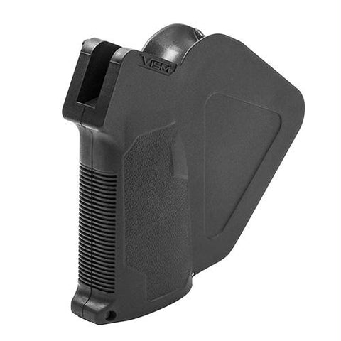 Vism AR15 Featureless Grip With Storage, Black