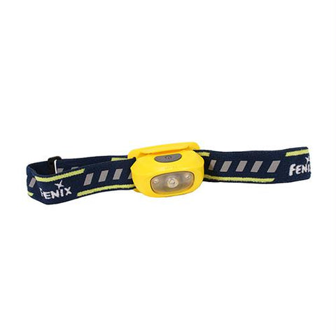 HL16 LED Headlamp with Battery - Yellow