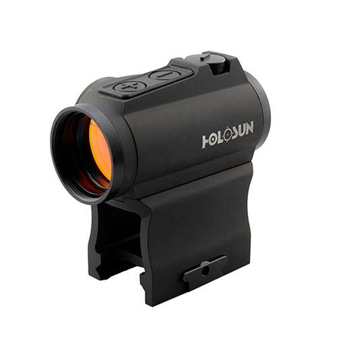 Elite Green Dot Sight - 1x 65 MOA Circle with 2 MOA Dot Weaver-Style Low and Lower 1-3 Co-Witness Mounts