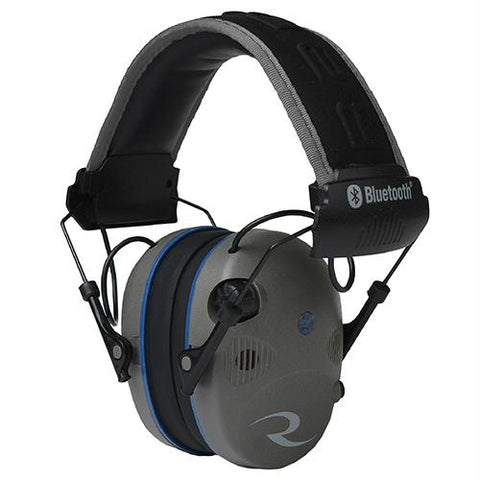 R-3700 Electronic Earmuff Quad Microphone, Bluetooth (NRR 24 dB) Pewter-Black