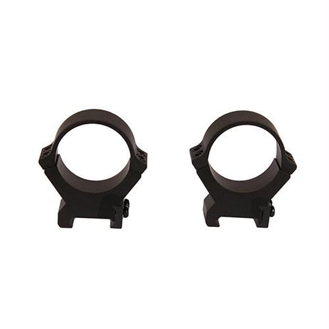 PRW2 Permanent Weaver-Style Rings - 34mm Tube Diameter, High Height, Matte Black
