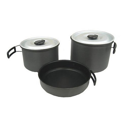 Ridge Hard Anodized Cookset - X-Large
