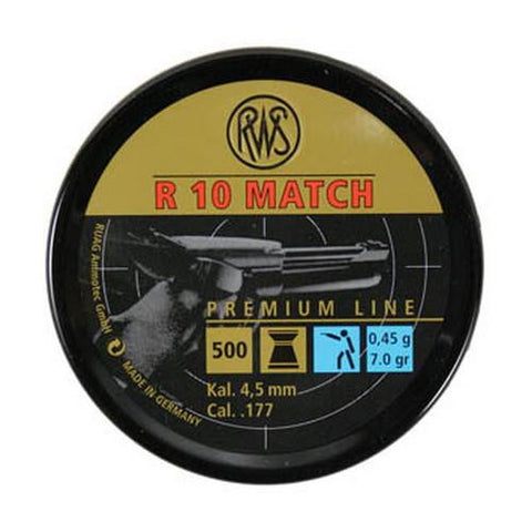 R10 Match -  Light .177,  7.0gr (Per 500)