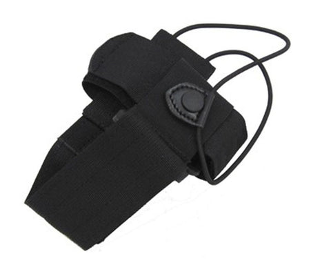 Universal Radio Case - w- Swivel Belt Loop Black