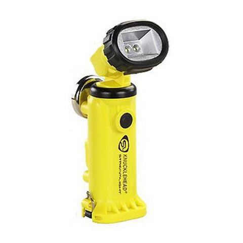 Knucklehead Light - with Charger-Holder-120V AC Cord & DC Cord, Yellow