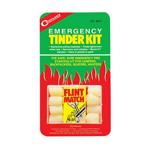 Emergency Tinder Kit