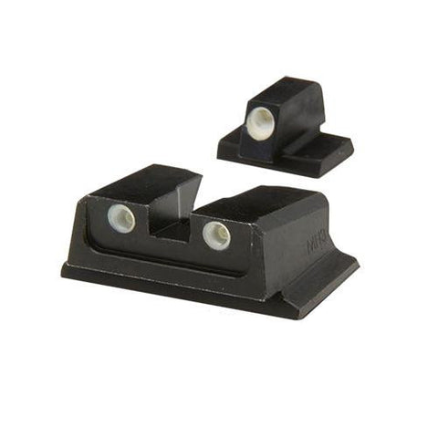 S&W - Tru-Dot Sights - M&P F-S Comp&Sub-Comp Fixed Set