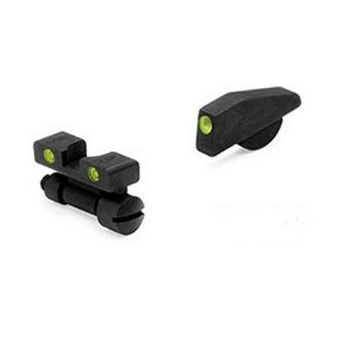 S&W - Tru-Dot Sights - K,L & N Revolvers Adjustable Set, High Front Sight