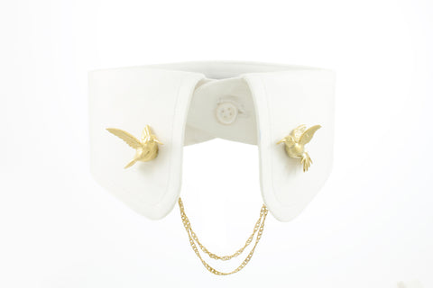 Humming Bird Clip - Gold