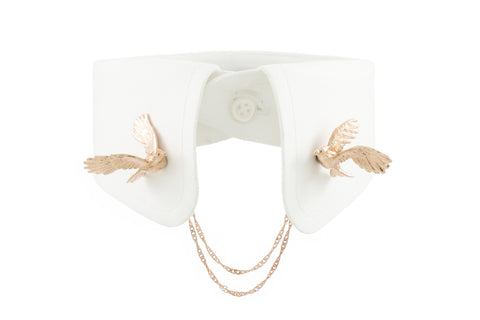 Cockatoo Clip - Pink gold