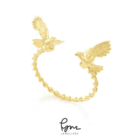 Cockatoo Bangle - Gold