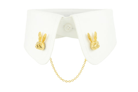 Rabbit Collar Clip - Gold