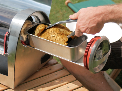 GoSun Grill Solar Oven Cooker Chicken