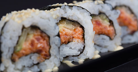 A Chumaki Roll: Spicy Tuna