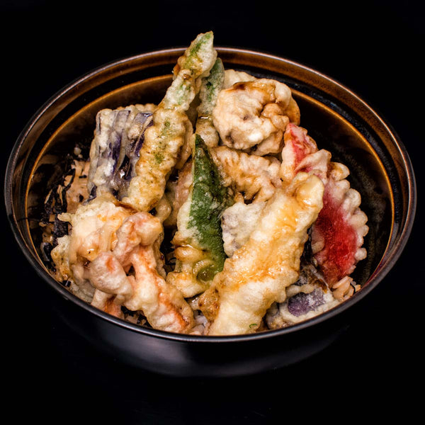 Vegetable Tempura Rice Bowl