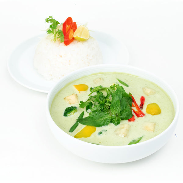 Green Thai Curry Veg & Rice Bow