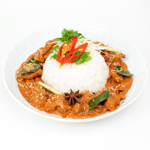 Malaysian Rendang Chicken & Rice Bowl