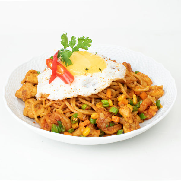 Mee Goreng Chicken Bowl