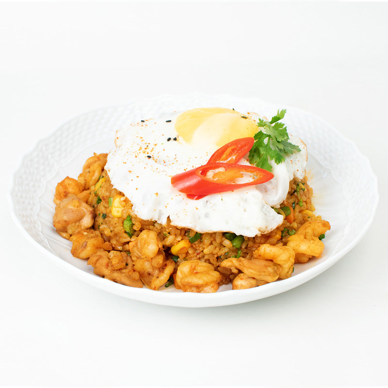 Nasi Goreng Chicken Bowl (Indonesian Fried RIce)