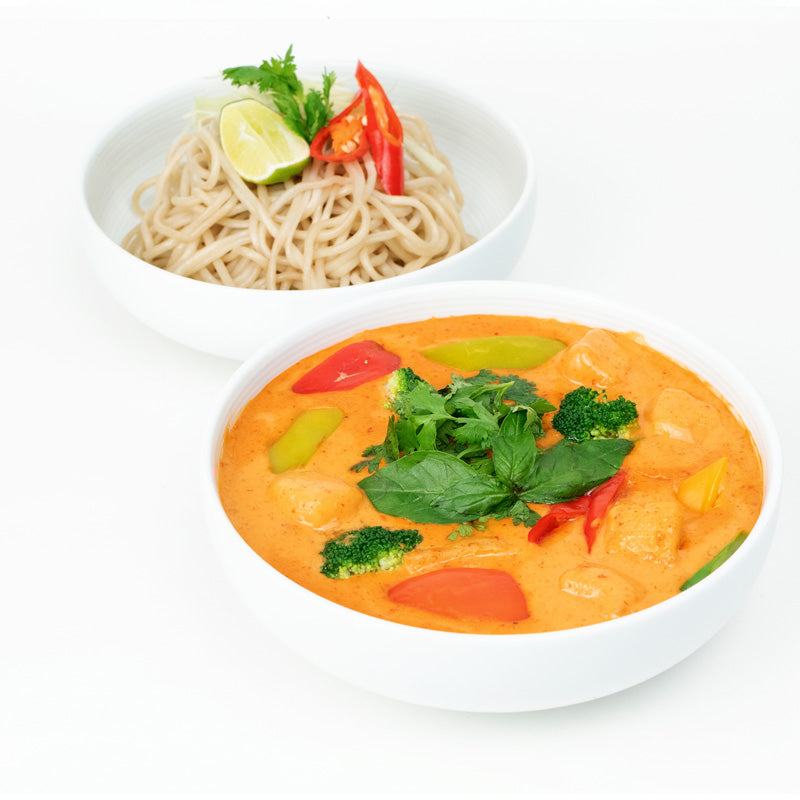 Red Thai Curry Veg & Noodle Bowl