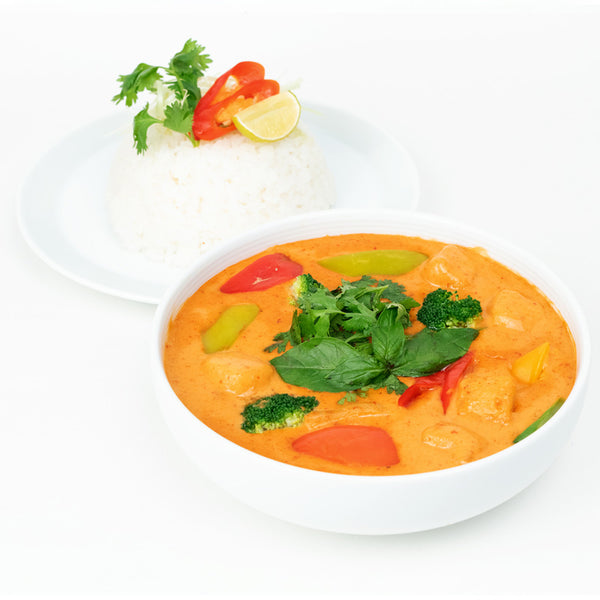 Red Thai Curry Veg & Rice Bowl