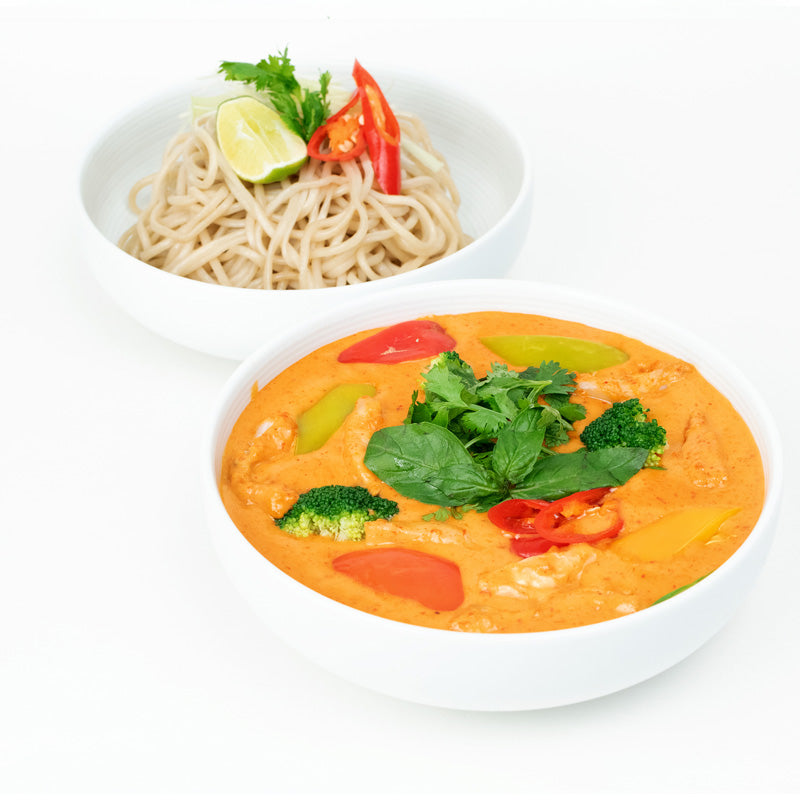 Red Thai Curry Chicken & Noodle Bowl