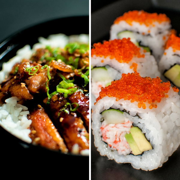 Rice Bowl & Sushi Meal