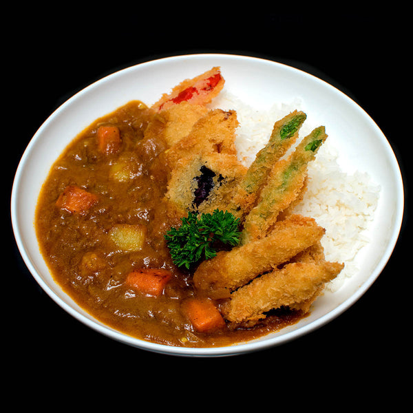 Fried Vegetable Japanese Curry
