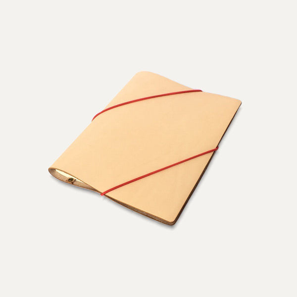 Carnet cuir Diagonal - Grand Rue - Made in France
