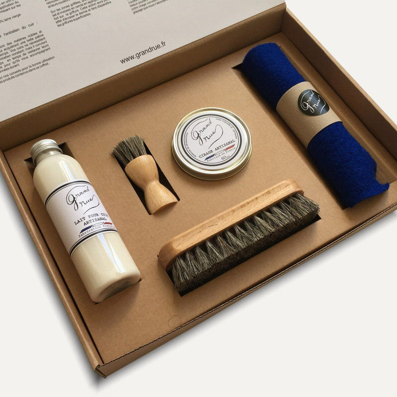 COFFRET D'ENTRETIEN ARTISANAL - Grand Rue - Made in France