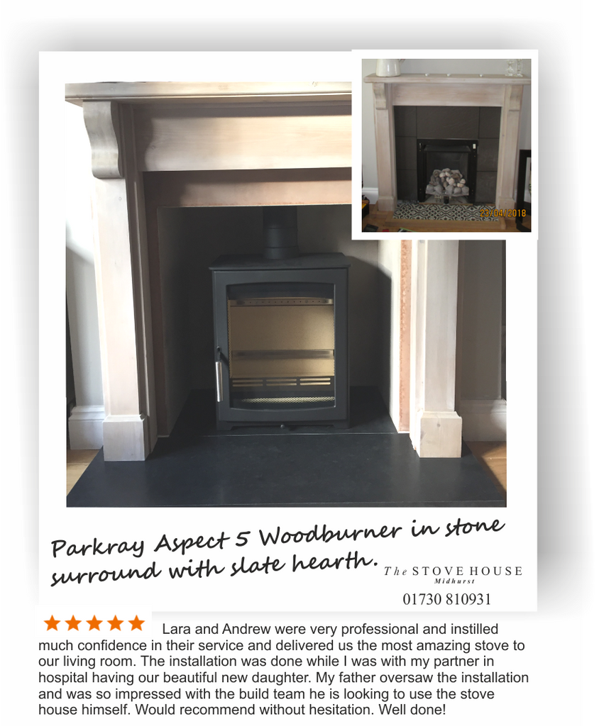 Parkray Aspect 5 Supplied & Fitted by The Stove House