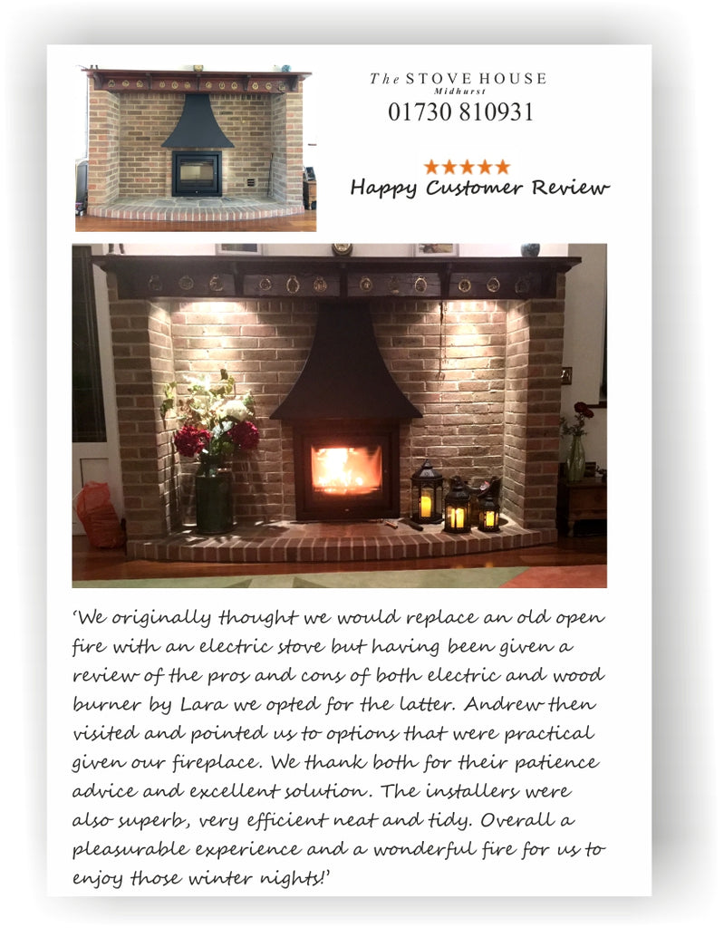 Customer Review on The Stove House Midhurst. 01730 810931