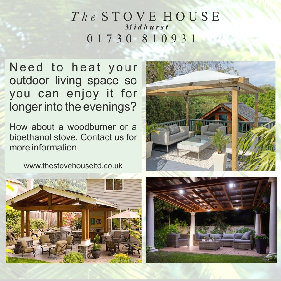 Heating for your outdoor room / living space