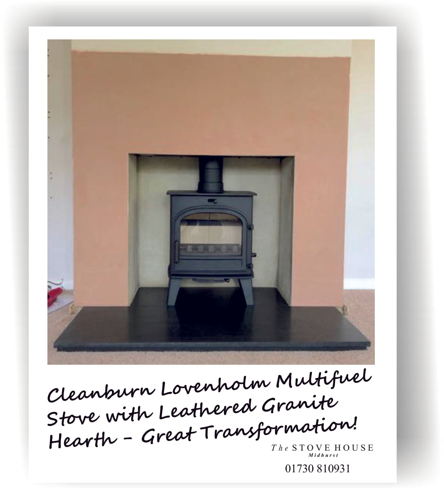 Cleanburn Lovenholm Multifuel Stove Fitted by The Stove House