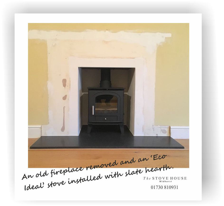 Eco Ideal Stove Installation