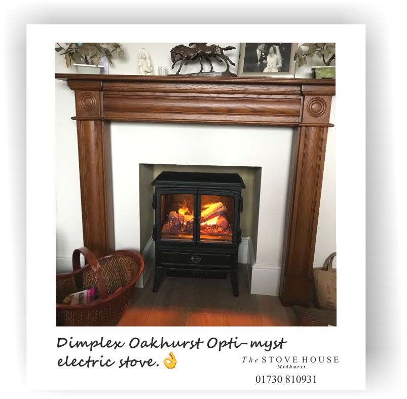 Dimplex Oakhurst Opti Myst Electric Fire Effect Stove
