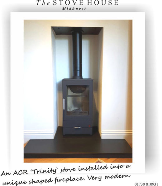 ACR Trinity Stove Installation By The Stove House 01730 810931