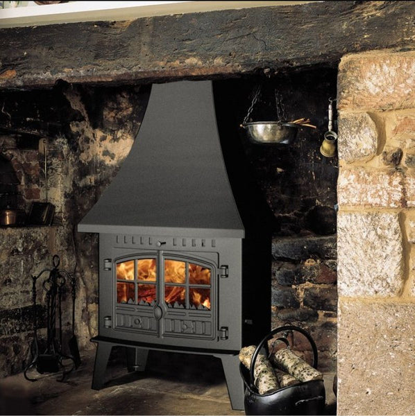 Hunter Herald Inglenook Stove at The Stove House 01730 810931