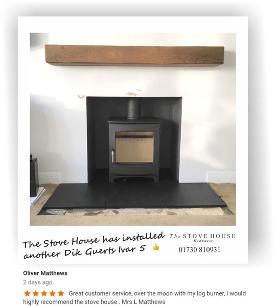 Ivar 5 Supply and Installation by The Stove House 01730 810931